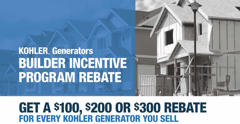 Builder Incentive Program Rebate