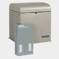 Kholer 8kW Generator with Automatic Transfer Switch